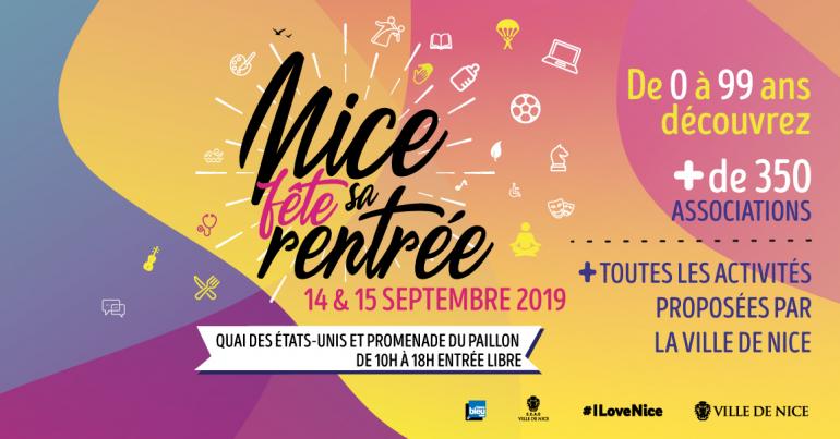 Read more about the article L'UDAF était présente à la 2e édition de «Nice fête sa rentrée»