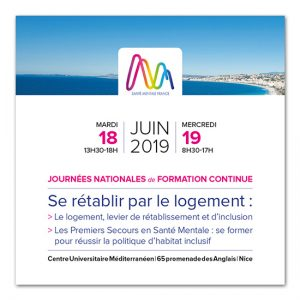 Santé Mentale France : Journées Nationales 2019